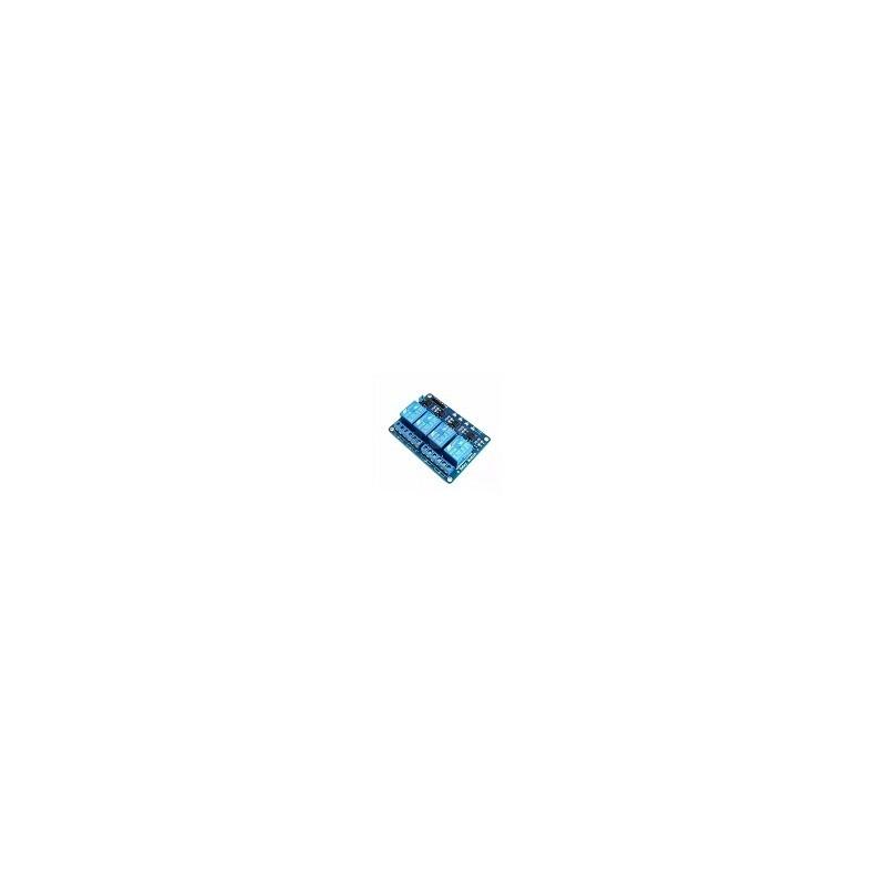 Modulo Rele 4 Canales  Arduino Raspberry Microcontrolado