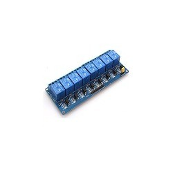 Modulo Rele 8 Canales Opto Aislado 5V Pic Avr Arm Arduino