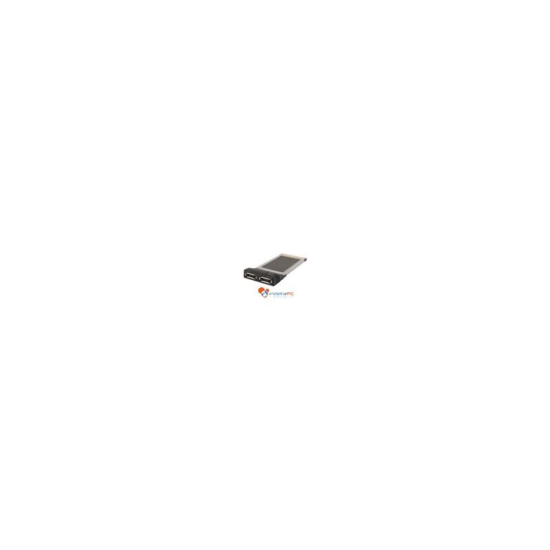 Tarjeta PCMCIA a 2 Puertos eSATA