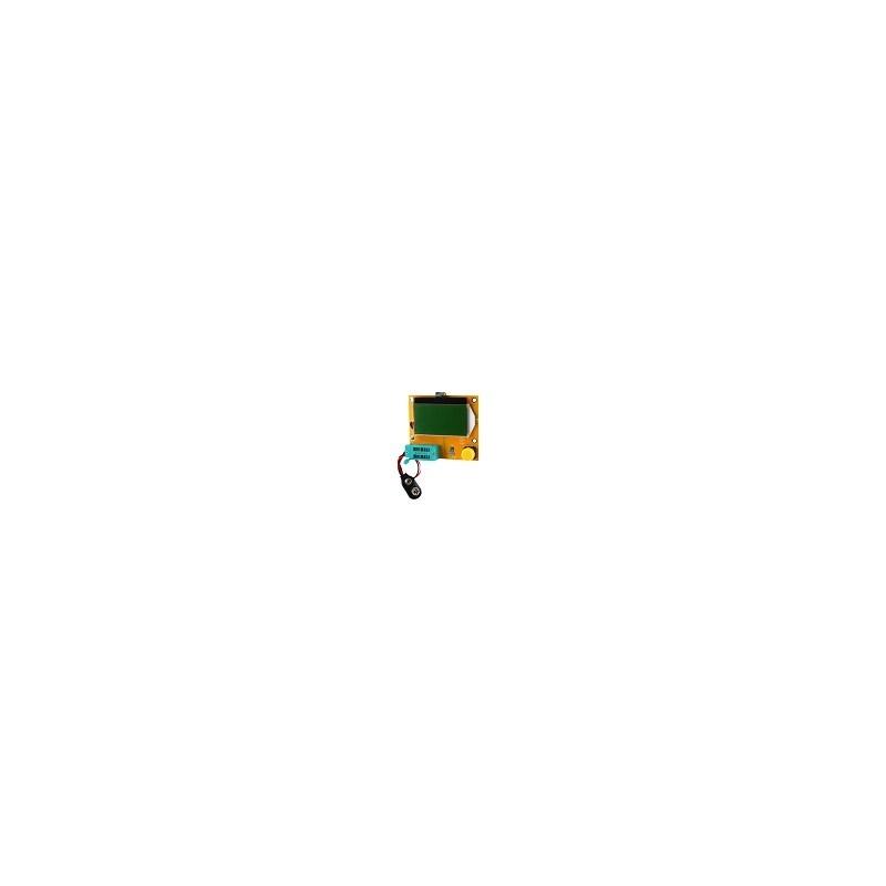 Multi Tester Mega328 Transistor Diodo Triodo Est Mos Pnp Npn
