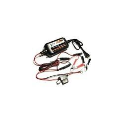 Cargador de Bateria de Plomo Litio MOTOPOWER 12V 1.5A Para Autos Camion Motocicletas