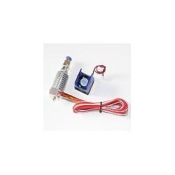 Extrusora Con ventilador Para Impresora 3D 1.75mm J- Head Honted Filamento
