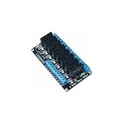 Modulo de Rele 8 Canales de Estado solido de Bajo Nivel SSR AVR SDSP Para Arduino