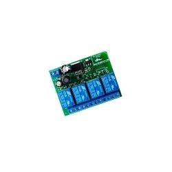 Modulo Rele 4  Canales Bluetooth Controla desde el celular