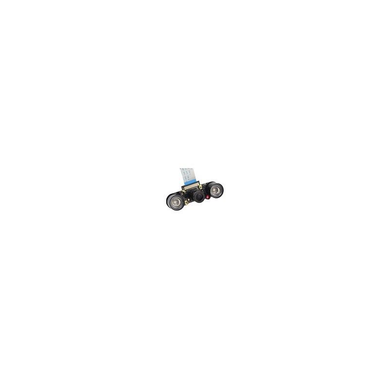 Camara Arduino 5 MP Sensible a la Luz Infraroja Con vision Nocturna OV5647 Raspberry
