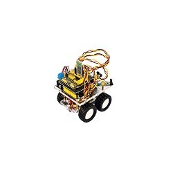 Kit Mini Chassis KeyEstudio Bluetooth Wireless Para Arduino Smart Car Robot