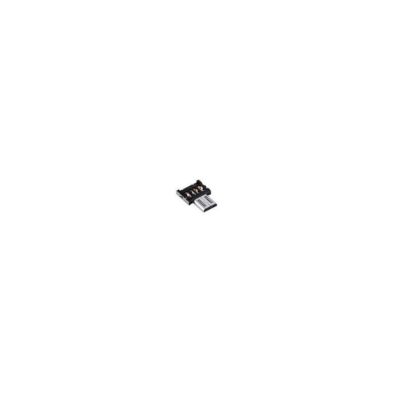Adaptador OTG de Micro USB a USB Para Smartphone Android
