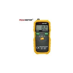 Peakmeter PM6501 Tipo Termometro Digital LCD -50 - 750 Grados