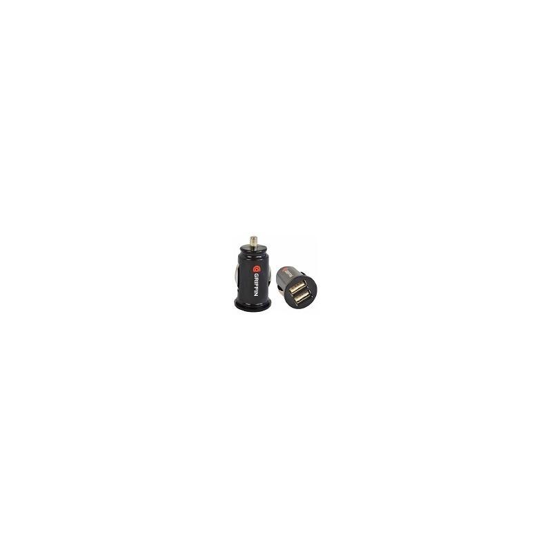Cargador Auto Dual USB iphone  Ipod Galaxy 12v 1A