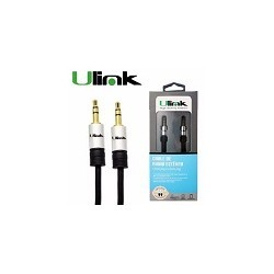 Cable Audio Ulink 3.5mm a 3.5mm M-m 1.8mts alta Fidelidad Ulink
