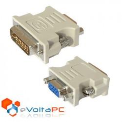 Adaptador VGA Hembra a DVI-I Macho