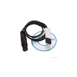 Adaptador Interfaz USB a DMX DMX512 LED