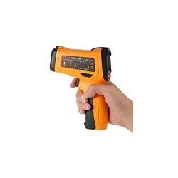 Termometro Digital Infrarojo IR Luz Violeta Emisidad Ajustable PM6530D