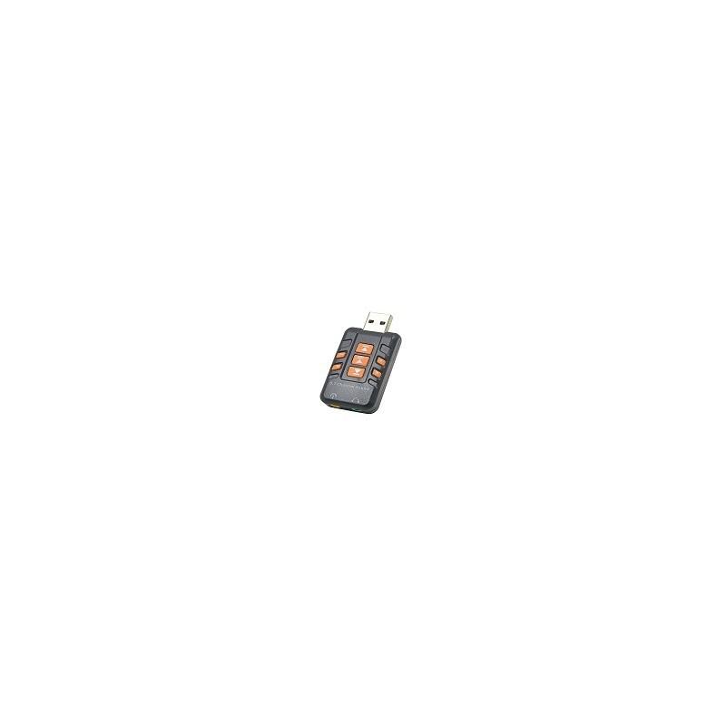 Tarjeta de Sonido USb Externa 3D Audio 8.1 Win Mac