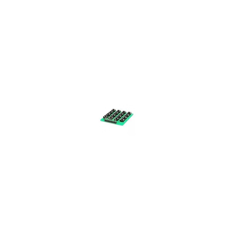 Matriz 4x4 Teclado Botonera Keypad Arduino