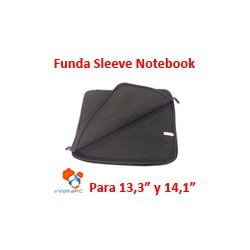 "Funda Sleeve de Neoprene para Notebook 13,3"" y 14,1"""