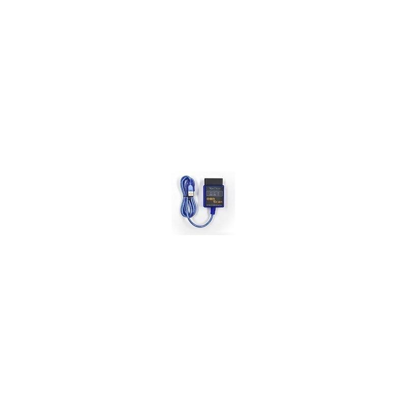 Scanner para Auto ELM327 USB OBD Diagnostico Version 2.1
