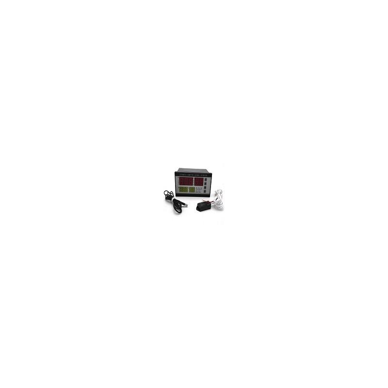 Termostato Digital Con Sonda de Temperatura y Humedad Para Incubadora 220v