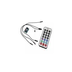 Control Remoto + LED + Modulo HX1838