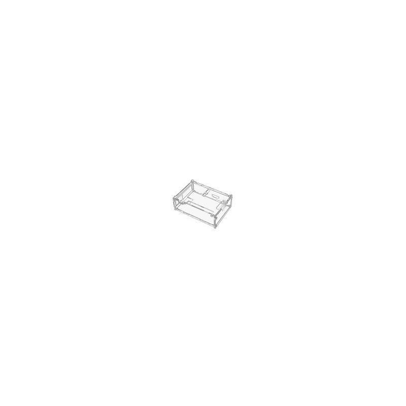 Case Transparente Compatible Con Raspberry Pi3 Mas Disipadores