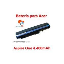 Batería para Acer Aspire One 110/150/D150/D250/Pro531 4.400mAh