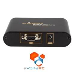 Conversor VGA y Audio a HDMI 1080p Full HD PC a LCD