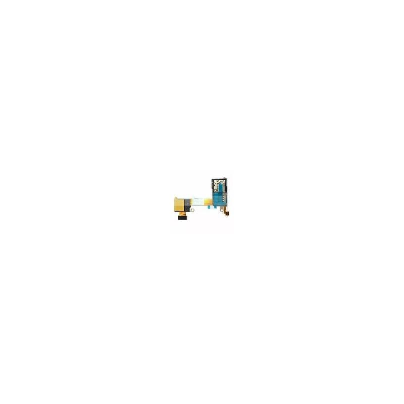 Flex Lector de sim Micro SD Sony Xperia M2 y m2 Aqua
