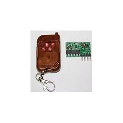 Control Remoto 4 Botones + Receptor Para Arduino