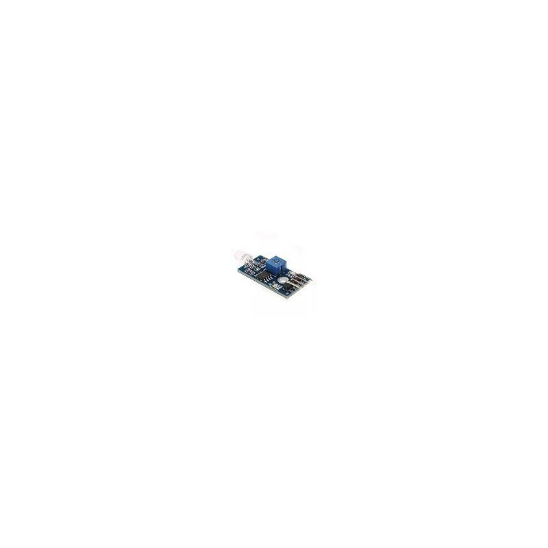 Foto Diodo Sensor de Luminosidad Arduino