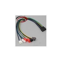 Adaptador ide Molex Refrigeracion Fan 2 pin 12v 7v 5v 30cm Diy 4pin