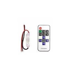 Controlador Inalambrico  de Tiras Led Mono + Control 12A 5V -24V