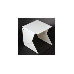 Mini Caja Plegable Para Fotografia Softbox Luz LED