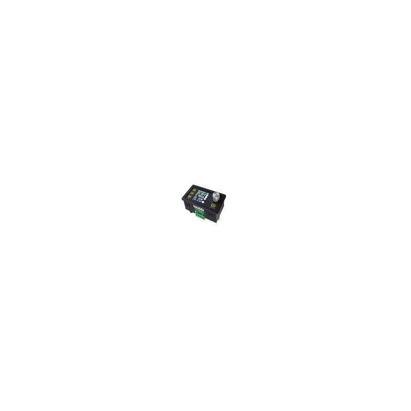 Convertidor Regulador de Voltaje Amperimetro 50V 5A 250W LCD