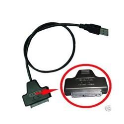 """Cable Adaptador Micro SATA 1,8"""" a USB 2.0"""