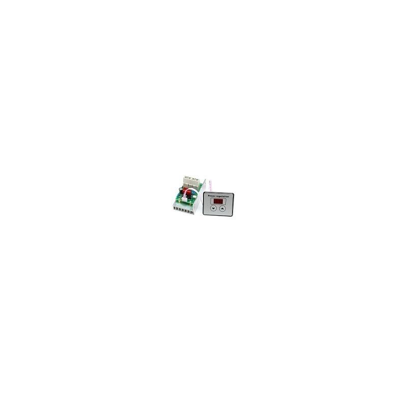 Regulador de Velocidad Digital de Termostato SCR 10000W