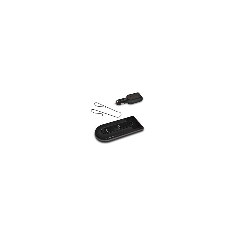 Manos Libres Bluetooth para Auto Aktiz AkFree iPhone Nokia Black