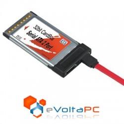 PCMCIA SATA x 2 Puertos Serial ATA