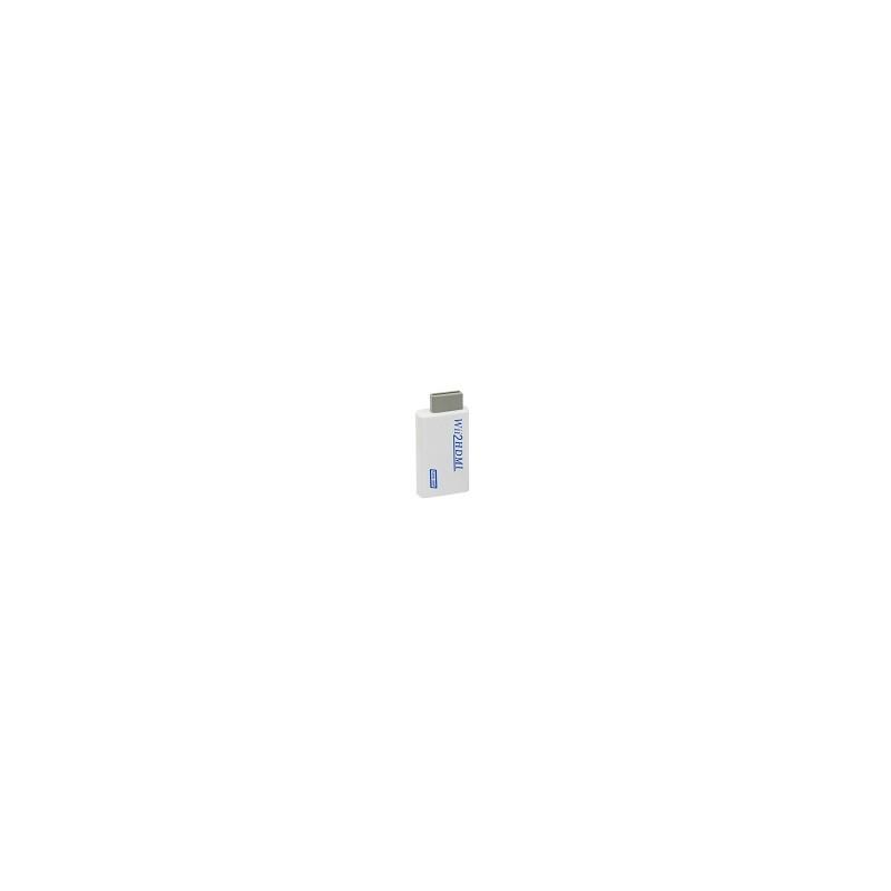 Adaptador Convertidor Hdmi Para Wii 720p 1080p Wii2 HDMI 3.5mm Audio Para Tv