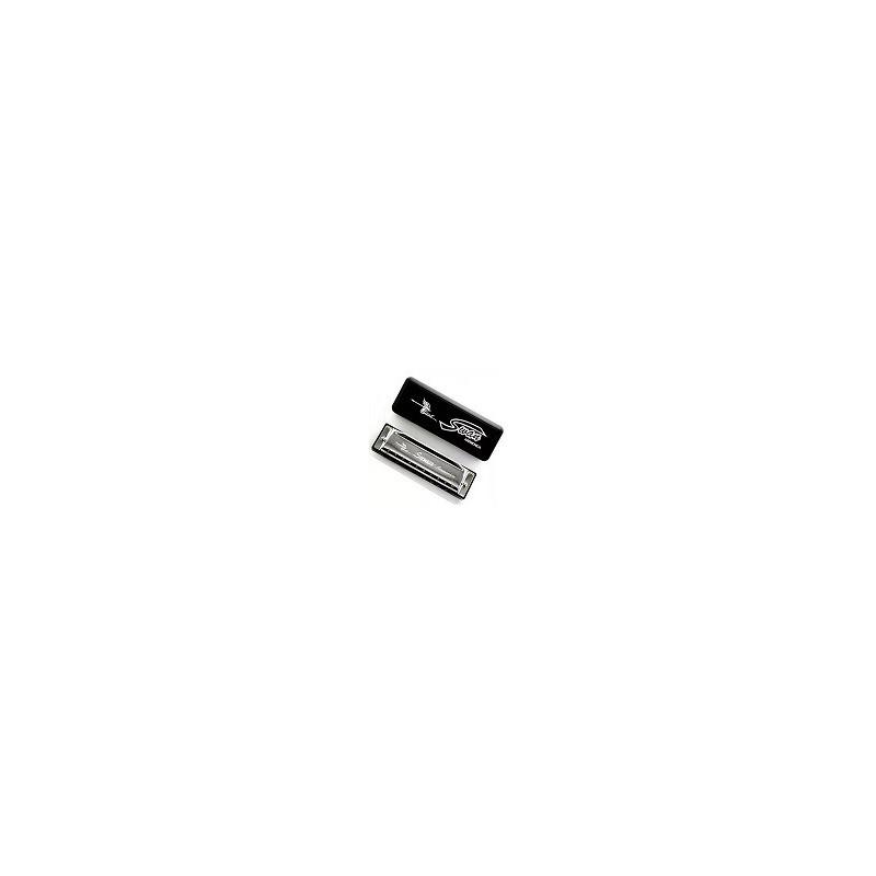 Armonica 10 Agujeros Color Plata