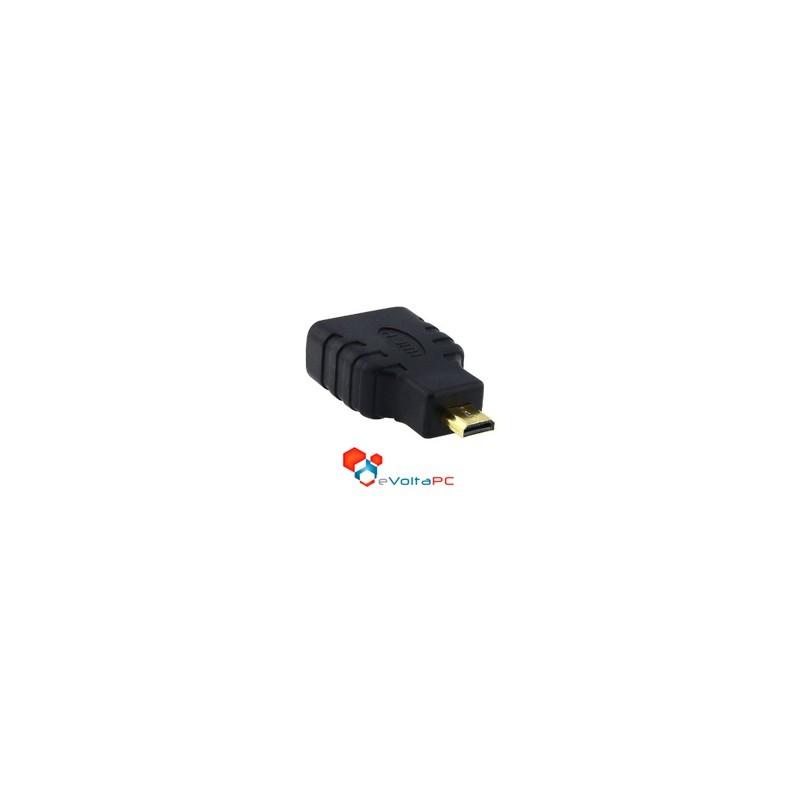 Adaptador Micro HDMI a HDMI Camaras Celulares Tablet