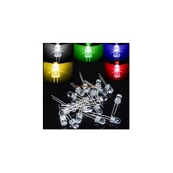 Pack 100 LED Ultrabright 5mm Arduino Mix Colores