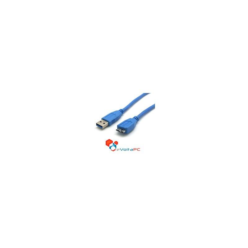 Cable USB 3.0 a Micro USB 3.0 Para Disco Duro Externo