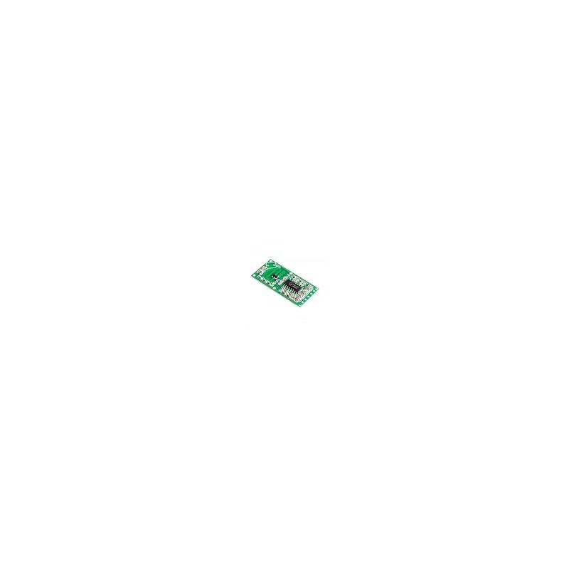 Modulo Interruptor de Induccion Cuerpo Humano RCWL-0516 Microondas Radar