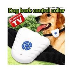 Collar Anti ladridos para Perro Ulrasonido Evita Controla Entren