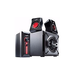 Parlantes Genius Gx Sw-g2.1 1250 Subwoofer 38w Pc Tv Dvd Mic