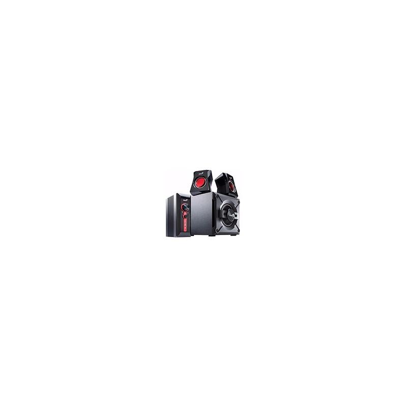 Parlantes Genius Gx Sw-g2.1 1250 Subwoofer 38w Pc Tv Dvd Mic