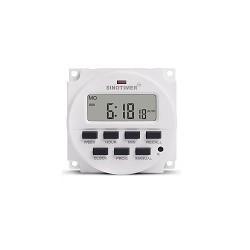 Timer LCD Digital 12V Programador de Tiempo Con Rele Interior