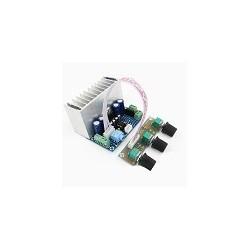 Amplificador TDA7377 2.1 Canal de Sonido 20Wx2 30W Bass Hi-fi Tablero