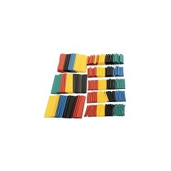 Kit 328 Tubos Multicolor de Poliofelina Libre de Halogeno 2:1 Heat Shrink