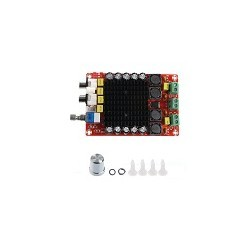Tablero Amplificador de potencia Audio Estereo TDA7498 2x100 DC 14-34V